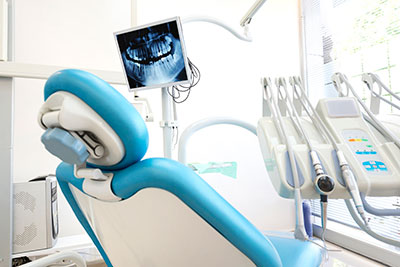 Dental chair at Rockville Centre Dentistry